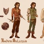 Ander Character Sheet