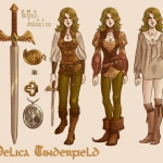 Delica Character Sheet