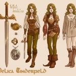 Delica Character Sheet