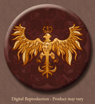 Andalusian Eagle Button